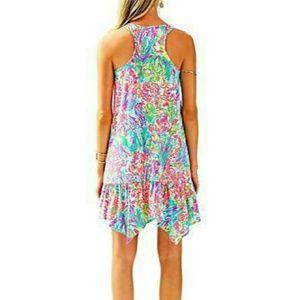 Lilly Pulitzer Dresses - Hampton Dress - Multi Fan Sea Pants